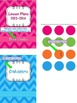 Chevron Binder Pages with editable blanks
