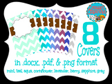 Chevron Binder and Notebook Covers
