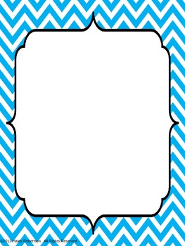 Chevron Binder covers-Bright colors- editable (FREEBIE!)
