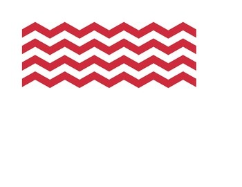 Chevron Birthday Months