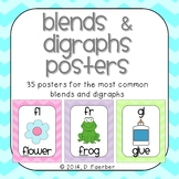 Chevron Blends and Digraphs Posters