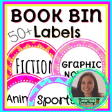 Chevron Classroom Library Labels 50+ Editable