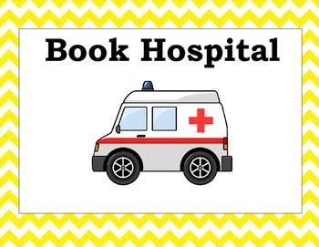 Chevron Book Hospital Label