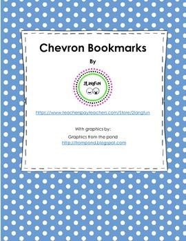 Chevron Bookmarks