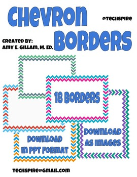 Chevron Border Images
