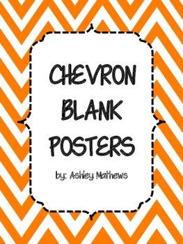 Chevron Border Posters