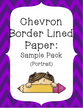 image regarding Chevron Printable Paper referred to as Printable Chevron Border Paper Worksheets Lecturers Fork out