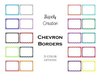 Chevron Borders