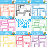 Chevron Borders Pack - 64 Borders for Commercial Use