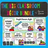 Chevron Brights Classroom Decor- BIG BUNDLE!