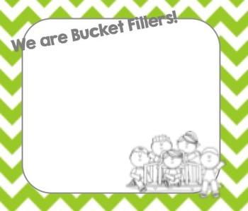 Chevron Bucket Filler Cards