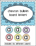 Chevron Bulletin Board Letters