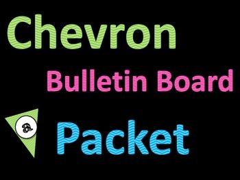 Chevron Bulletin Board Pack