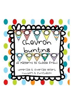 Chevron Bunting -10 Patterns!