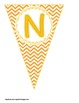 Chevron Buntings- Customize Your Own Banner!