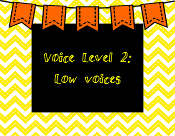 Chevron CHAMPS Voice Level Mini Posters