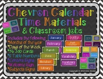 Chevron Calendar