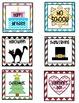 Chevron Calendar Cards