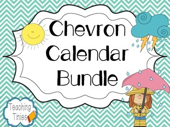 Chevron Calendar Bundle