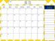 Chevron Calendar Printable 2013-2014