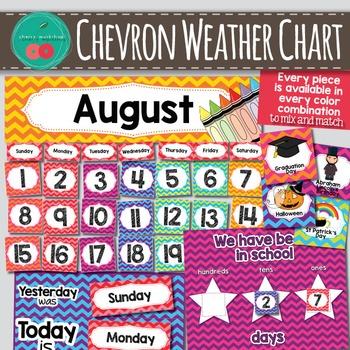 Calendar Set Bright