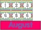 Chevron Calendar Set {Number cards, Month Headers, Holiday Cards}