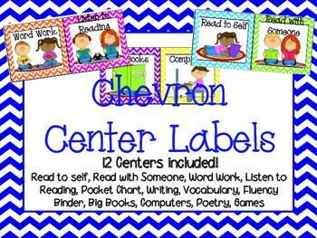 Chevron Center Labels