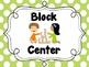 Center Signs {Polka Dot}