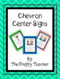 Chevron Center Signs