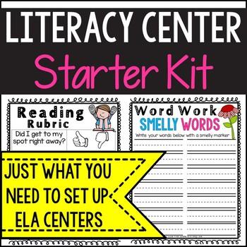 Literacy Center Starter Pack