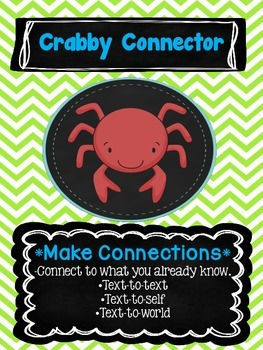 Chevron & Chalk Beanie Decoding/Reading Comprehension Strategy Posters