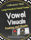 Chevron & Chalkboard *Vowel Visuals (vowel teams/long vowels) Posters & Charts*