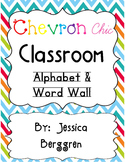 Chevron Chic Classroom Decor Bundle {white background}