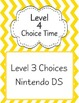 Chevron Choice Time Option Signs