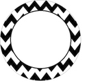 Chevron Circle Alphabet