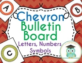 Chevron Bulletin Board Letters (Fall Colors)