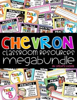 Chevron Class Decor BUNDLE