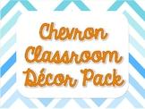 Chevron Class Decor Pack
