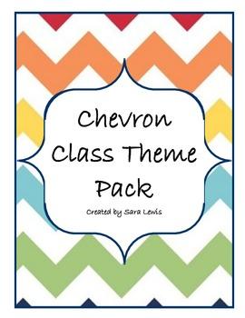 Chevron Class Pack / Class Theme