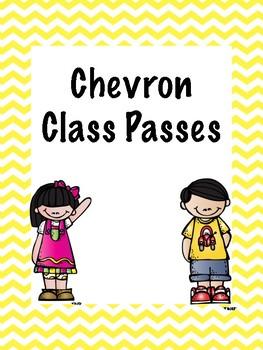 Chevron Class Passes
