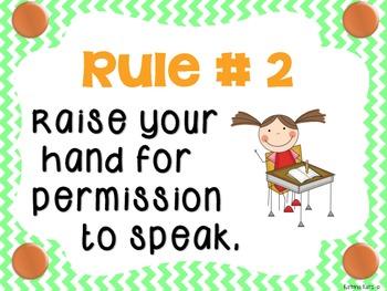 Chevron Class Rules Whole Brain Teaching