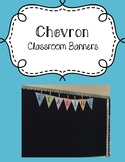 Chevron Classroom Banners