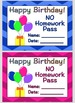 Chevron Classroom Birthday Bundle
