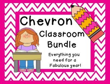 Chevron Classroom Bundle {Everything You Need}