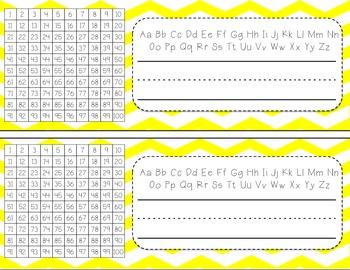 Chevron Classroom Bundle {Everything You Need}
