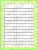 Classroom Charts: Chevron