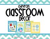 Chevron Classroom Decor - A Calm, Bright, & Organized Classroom