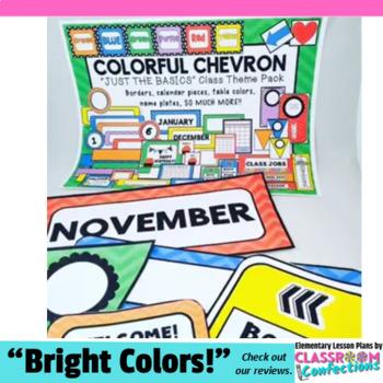 Chevron Classroom Decor: Chevron Themed Class Decor