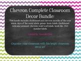Chevron Classroom Decor Bundle!