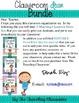 Editable Classroom Decor Bundle {Chevron Polka Dot Theme}